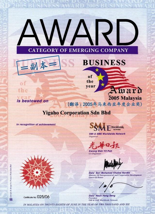 马来西亚年度企业奖